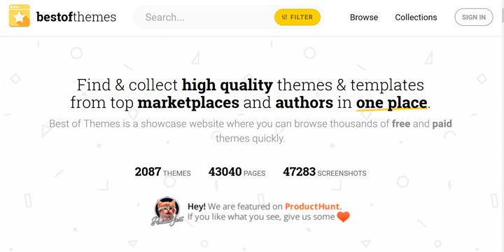 今日は、HTML5やWordPressといった、今やWebサイト制作には欠かせない豊富な種類のテンプレートの検索が簡単に検索できる「Best of  Themes」というサイトをご紹介し ...