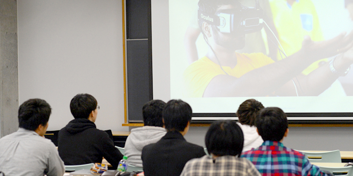 神奈川工科大学での授業の様子