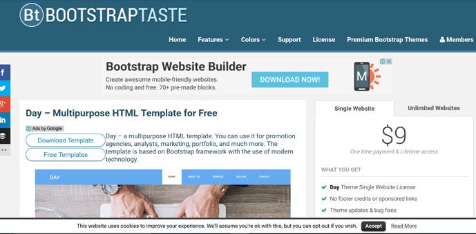 テンプレートを活用して bootstrapを使いこなそう webデザイン web