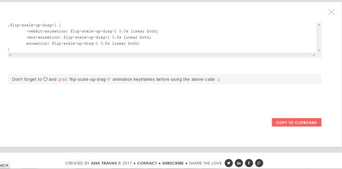 Animista CSSコード