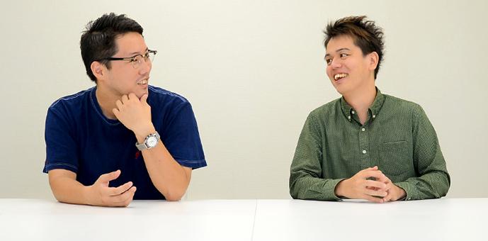(写真向かって左より)株式会社DONGURI ミナベトモミさんと鈴木真結人さん