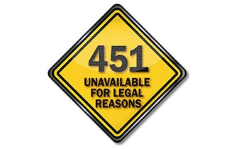 ネット検閲の「451エラー」