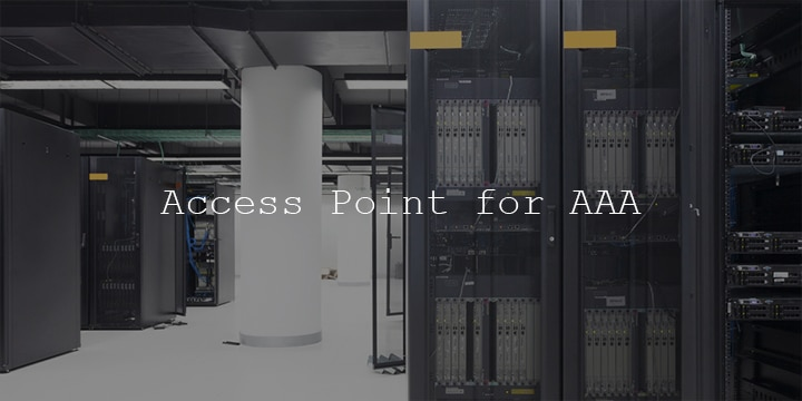 AAAにおけるアクセスポイントでの認証の仕組み