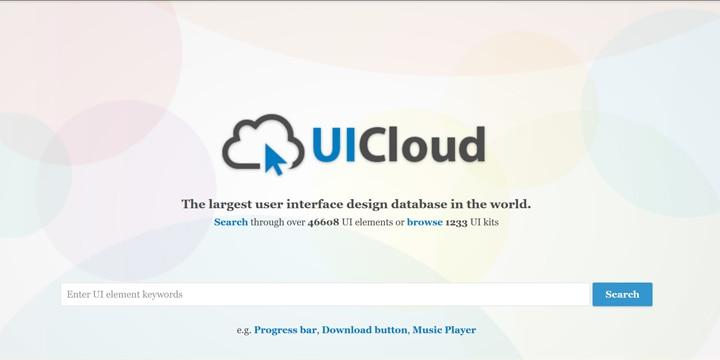 46,000種以上のUIのフリー素材が手に入る「UICloud」