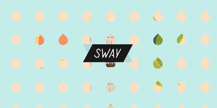 RWDの参考に...。爽やかさ満点の「Sway Water」