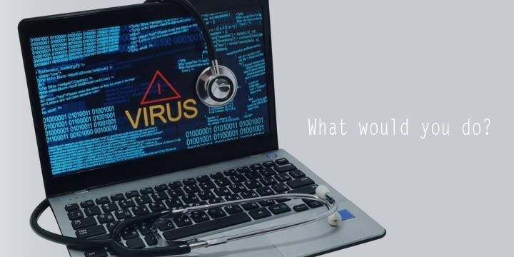 インターネットウイルスの感染を疑うべき症状とは