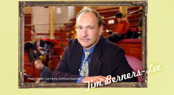 Webの生みの親はイギリス人のティム・バーナーズ=リー博士です。インターネットの中でももっとも重要なシステムであるWWW(World Wide Web)を発明しました。2012年の